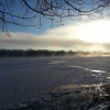 January - frozen Ohio River - taken from Lesko Park