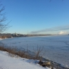 The Ohio River froze from shore to shore.